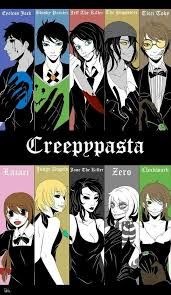 Eyeless Jack Bloody Painter Jeff the Killer The Puppeteer Ticci Toby