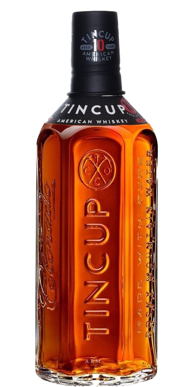 Tin Cup 10 Year Old American Whiskey - Colorado, USA