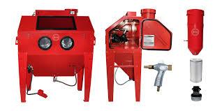 Abrasive Blast Cabinet Vacuum by Sand Blasting Cabinet Fbc04 Blast Cabinet 220l Sandblast Cabinet