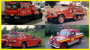 100 Old Fire Trucks Most Strange And Vintage YouTube