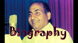 Mohammed Rafi Biography Mohammed Rafi Birthday Wish