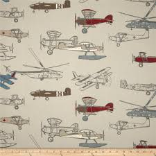 Curtain Fabric By The Yard by Premier Prints Vintage Air Pewter Natural Discount Designer