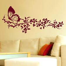 Large Butterfly Wall Art S White