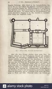 Chateau Floor Plans Schloss Bury Du Cerceau Und Viollet Le Duc Floor Plan