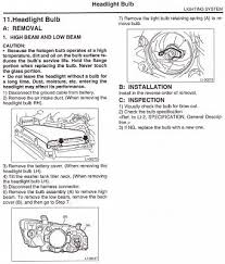 replacing blown headlight bulb subaru legacy forums