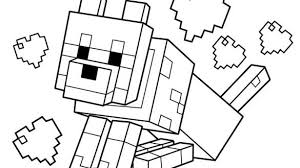 Dazzling Minecraft Coloring Sheet Pages Free Printable PDF Sheets Steve Math