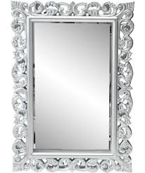 Tilting Bathroom Mirror Bq by Buy Heart Of House Isabella High Gloss Wall Mirror Silver At