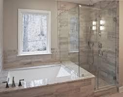 Tiling A Bathtub Lip by Bathroom Remodel By Craftworks Contruction Glass Enclosed Shower