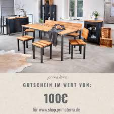 gutschein für industrial style möbel