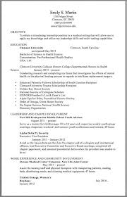 Awesome Collection Of Leadership Resume Example Blank