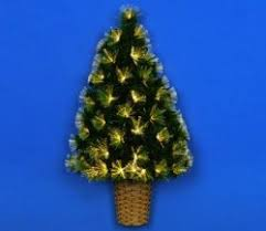 Small Fibre Optic Christmas Trees Uk by Fibre Optic Star Christmas Tree By Premier Gardensite Co Uk