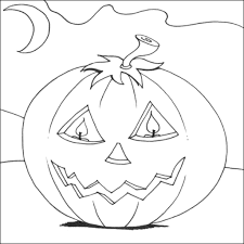 Halloween Coloring Page Pdf At Pages
