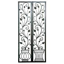 Pottery Barn Metal Wall Decor by Wrought Iron Wall Decor Is Pottery Barn Wrought Iron Wall