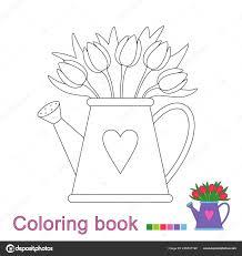 Tulipe Image Fleurs Images à Colorier Fleurs Coloriages Dessin