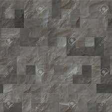 A Nice Seamless Grey Slate Flooring Texture Background Stock Photo