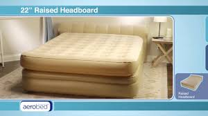 Aerobed With Headboard Full Size by 5897 Coleman Aerobed Final 720 H264 Youtube