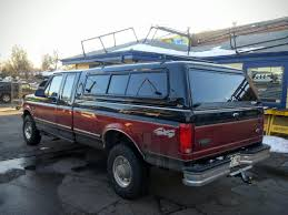 1996 Ford F150, CX W/ Windoors, Yakima Rack - Suburban Toppers