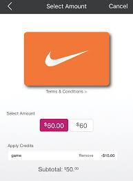 Swych: $60 Nike E-Gift For $50 (5x INK) - Doctor Of Credit Olive Garden Restaurant Hours Elvis Presley Show Las Vegas Nike Store Coupon Codes By Jos Hnu66 Issuu How To Use A Nike Promo Code Apple Pay Offers 20 Gift With 100 Purchase Promo Code Reddit May 2019 10 Off Coupons Spurst Organic India Shop App Nikecom 33 Insanely Smart Factory Store Hacks The Krazy Clearance Melbourne Revolution 2 Big Kids October Ilovebargain Sr4u Laces Black Friday Wii Deals 2018 This Clever Trick Can Save You Money On Asics Wikibuy