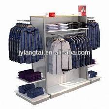 Shirt Display Rack For Clothing Store In Mid Position Global Sources Regarding