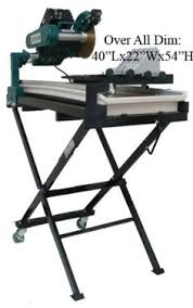 Kobalt Tile Saw Manual by Lackmond Wts950ln Beast Wet Tile Saw With Sliding Tray Laser And