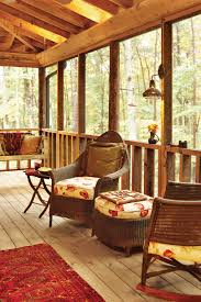 Screened In Porch Decorating Ideas And Photos by Porch And Patio Design Inspiration Southern Living