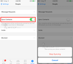 Stop Messenger From Syncing Your iPhone Contacts How To