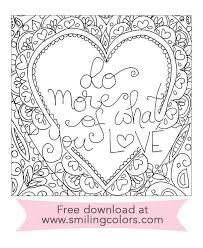 Free Adult Coloring Printable Download Pdf Valentine Printables Smilingcolors