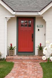 Red Door Dc Traditional Entry Also Bright Red Door Dentil Molding