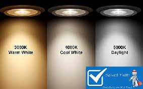 what does light bulb color temperature solved that