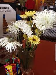 Table Flowers Picture of Patio Cafe Fresno TripAdvisor