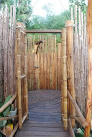 Outdoor Shower Bamboo Photo