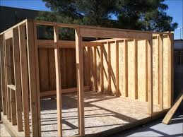 12x12 Gambrel Shed Plans by My 12x16 Shed Build Youtube