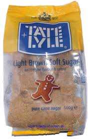 Tate Lyle Light Brown Soft Sugar 500g A Taste of Britain