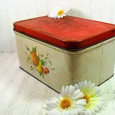 Rustic DecoWare Metal Large Bread Box