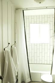 Flexible Curtain Track For Rv by Shower Ceiling Mounted Curtain Rods Rv Shower Curtain Ceiling