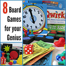 8 Board Games For Your Genius