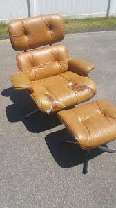 Antique Barber Chairs Craigslist by Refinished And Reupholstered Vintage Mid Century Lounge Chair
