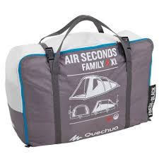 tente 4 places 2 chambres seconds family 4 2 xl quechua tente de cing familiale air seconds family 4 xl fresh black i