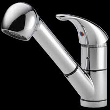Peerless Kitchen Faucet Manual by Peerless Choice Single Handle Pull Out Sprayer Kitchen Faucet In
