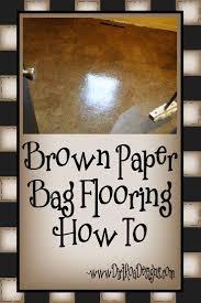 Dap Floor Leveler Home Depot by Brown Paper Bag Flooring Complete Instructions Brown Paper Bag