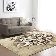 CANDdeal Antiskid Living Room Soft Carpets Floor Mat Shaggy Area Rug Pink
