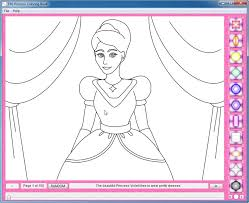 Coloring Book Software Free Download Disney Princess Pages
