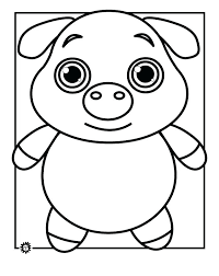 Coloring Pages For Printable Animals Jungle Children Zoo Animal Page Free