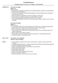 Download Master Plumber Resume Sample As Image File