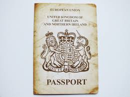 Vintage Passport Wedding Invitation