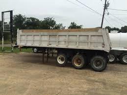100 End Dump Truck 1984 CMC ALUMINUM END DUMP TRI AXLE Beaumont TX