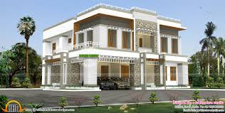 Luxurious Box Type Contemporary Flat Roof Home Kerala Design ... 3654 Sqft Flat Roof House Plan Kerala Home Design Bglovin Fascating Contemporary House Plans Flat Roof Gallery Best Modern 2360 Sqft Appliance Modern New Small Home Designs Design Ideas 4 Bedroom Luxury And Floor Elegant Decorate Dax1 909 Drhouse One Floor Homes Storey Kevrandoz