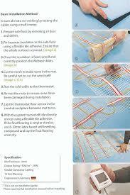Suntouch Heated Floor Not Working by Electric Floor Heat Mats U2013 Meze Blog