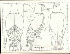 bird pattern chainsaw carving patterns instructions free