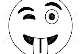 Smiley Face Black And White Big Smile Emoji Clipart No Background Free On Dumielauxepices Net